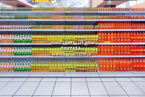 نصب قفسه بندی فروشگاهی قفسه فروشگاهی قفسه فلزی فروشگاهی خرید فروش تولید