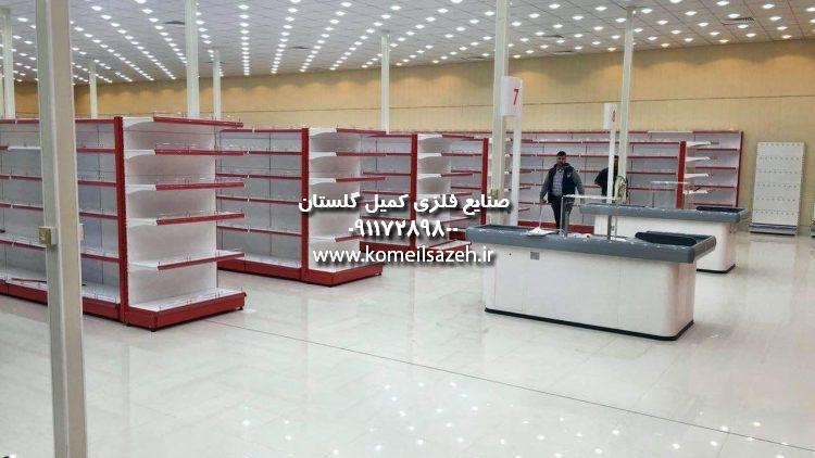 قفسه فروشگاهی قفسه بندی مغازه قفسه بندی فلزی فروش قفسه هایپری
